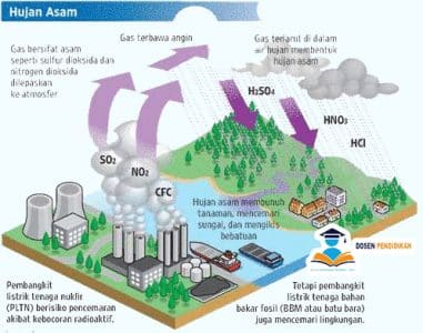 5 Pengertian, Dampak Dan Proses Terjadinya Hujan Asam