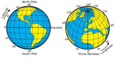 Pengertian Garis Bujur Dan Garis Lintang Di Dalam Ilmu Geografi