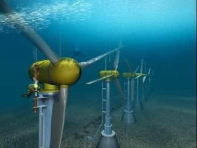 air laut tenaga listrik