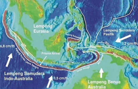"""Lempeng Indo - Australia"" Definisi & ( Sejarah Terbentuk - Batas Lempeng )"