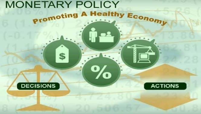 """Kebijakan Moneter ( Monetary Policy ) Pengertian & ( Tujuan – Jenis – Indikator – Instrumen )"