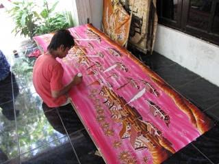 Contoh Batik Lukis