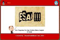 Contoh-Esai