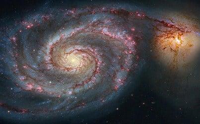 M51 atau galaksi Whirpool