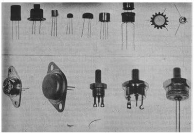 Macam-macam bentuk transistor
