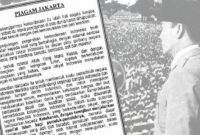 Piagam Jakarta 22 Juni 1945 : Sejarah, Tokoh, Rumusan, Naskah Dan Bunyi