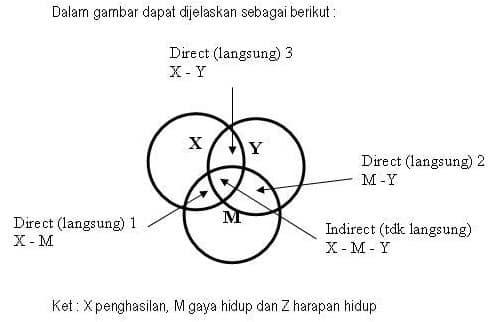 variabel diambil dari buku Prof. Sugiyono