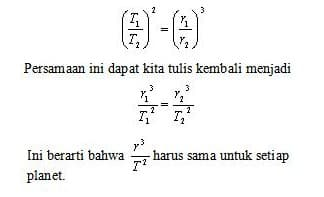 Hukum Kepler 3