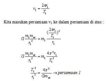 Persamaan Hukum II Newton 3