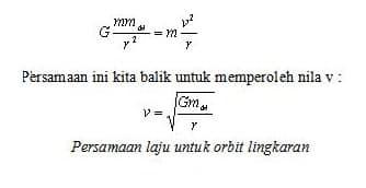 Persamaan Hukum Kepler 3