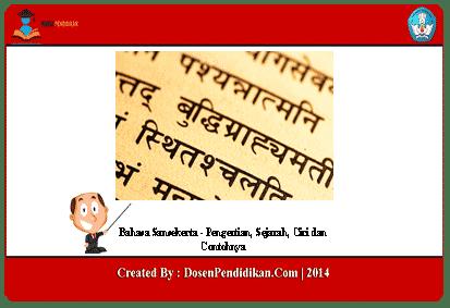 Bahasa-Sansekerta
