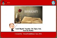 Contoh-Biografi