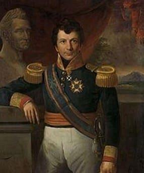 Graaf Johannes van den Bosch. Lukisan potret dibuat oleh Raden Saleh. Untuk Menteri Perang Belanda pada tahun 1860-an, lihat Johannes Adrianus van den Bosch.