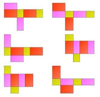 Gambar Jaring-jaring Balok 2