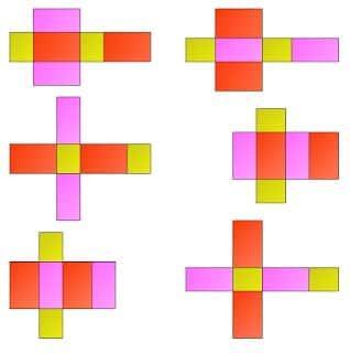 Gambar Jaring-jaring Balok 5