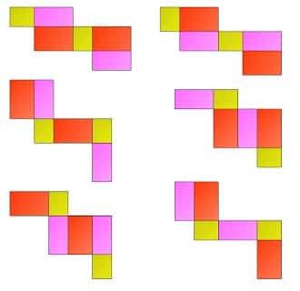 Gambar Jaring-jaring Balok 7