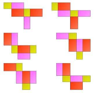 Gambar Jaring-jaring Balok 8