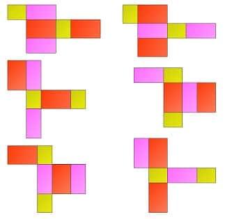 Gambar Jaring-jaring Balok 9