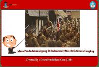 Masa Pendudukan Jepang Di Indonesia