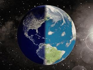 Perbedaan Waktu di Berbagai Tempat di Bumi