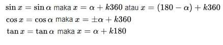 Persamaan trigonometri1