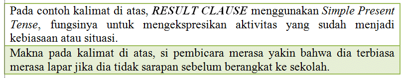 RESULT-CLAUSE