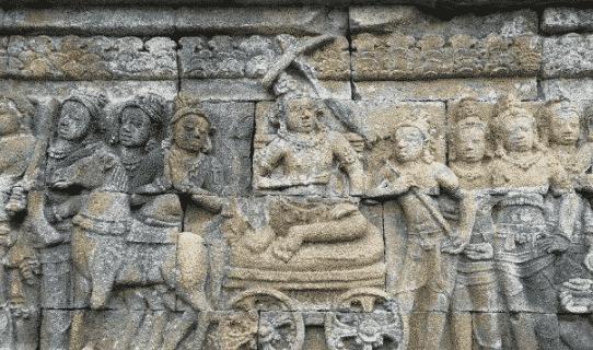 Relief Candi Borobudhur