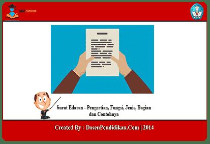 Surat Edaran Pengertian Fungsi Jenis Bagian Contohnya