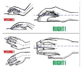 Cara Memegang Mouse