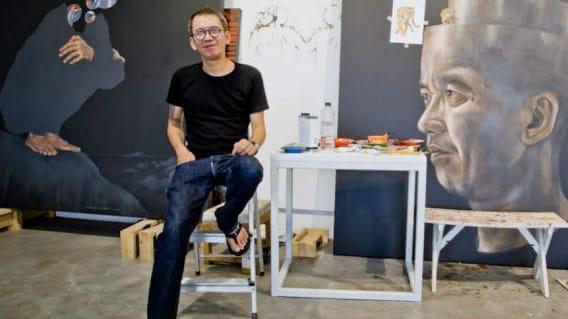 Seni gambar kontemporer Indonesia