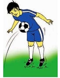Teknik menghentikan bola dengan perut