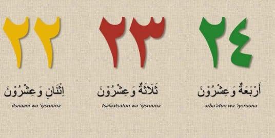 Angka Dalam Bahasa Arab 1 Sampai 100 1 Sampai 1000 Lengkap