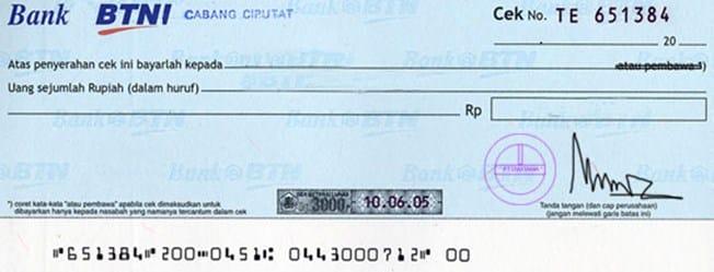 Contoh-Cek-(Cheque)
