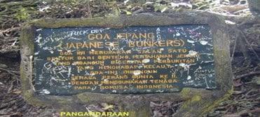 Jejak Benteng Jepang di Pangandaran