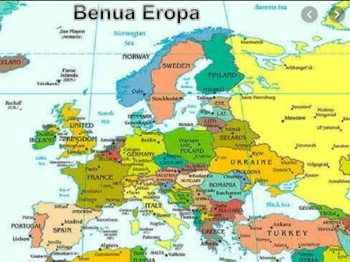 Karakterstik-Benua-Eropa