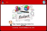 Pengertian-Budget