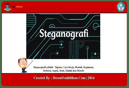 Steganografi-adalah