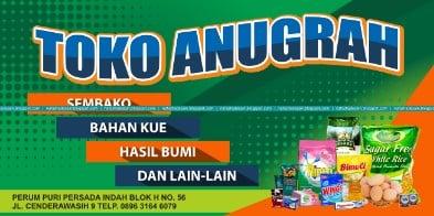 Contoh Spanduk Sembako