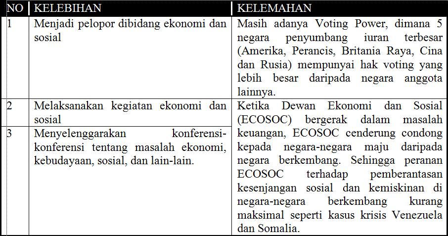 Kelebihan-dan-Kelemahan-ECOSOC