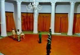 Pelantikan Panglima Mandala di Istana Bogor oleh Presiden Soekarno