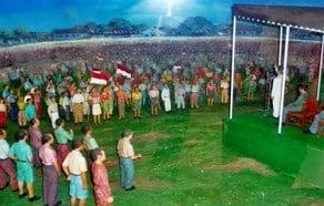 Rakyat Pembentukan Provinsi Irian Barat di Maluku