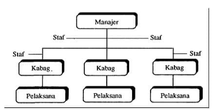 Bagan organisasi garis dan staf