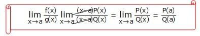 Bentuk Limit Fungsi Aljabar