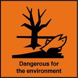 Dangerous for Enviromental (Bahan berbahaya bagi lingkungan)