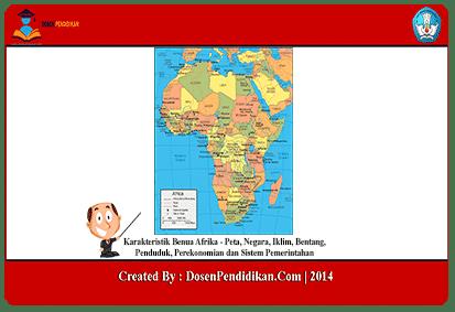 Karakteristik-Benua-Afrika