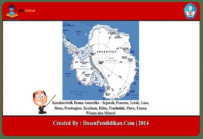 Karakteristik-Benua-Antartika