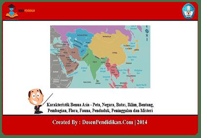 Karakteristik-Benua-Asia