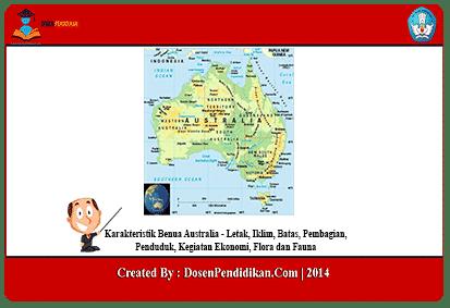 Karakteristik-Benua-Australia
