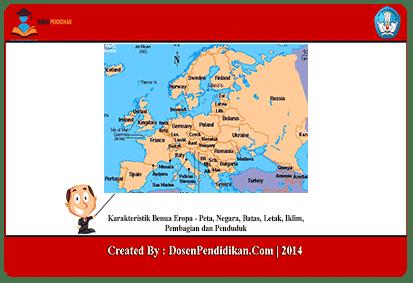 Karakteristik-Benua-Eropa
