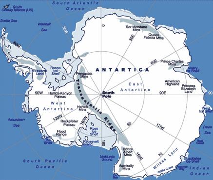 Letak-dan-Luas-Benua-Antartika
